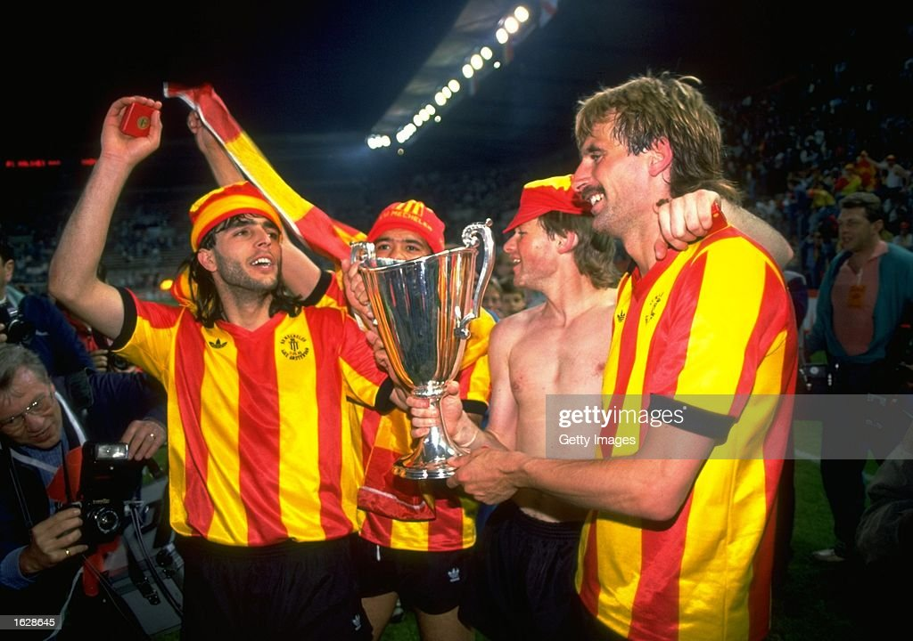 Ohana, De Wilde, Koeman and Den Boer of Mechelen : News Photo