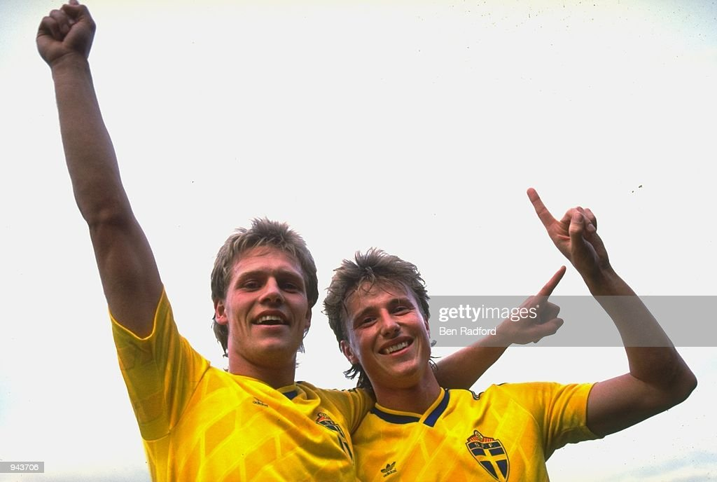 Peter Larsson and Roger Ljung : News Photo