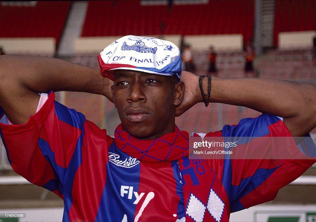 Ian Wright Wembley 1990 : News Photo