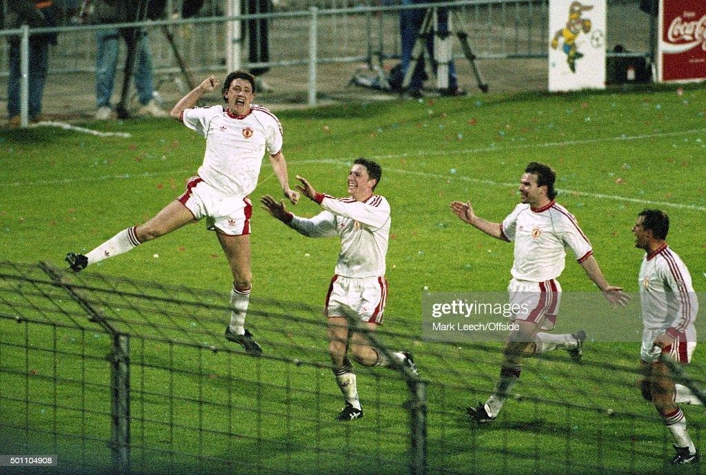 UEFA CWC Final 1991 : News Photo