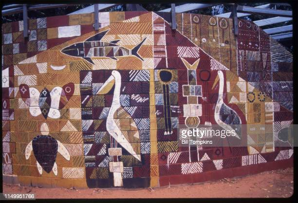 MANDATORY CREDIT Bill Tompkins/Getty Images Australian Aboriginal art is art made by the Indigenous peoples of Australia and in collaborations...