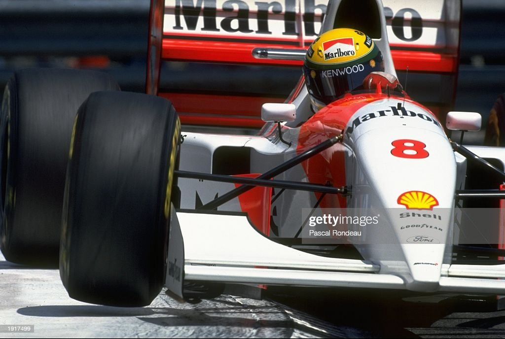Ayrton Senna : News Photo
