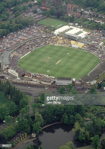 General view of Edgbaston Cricket Ground during the 1 day international between England and Australia in Birmingham England Mandatory Credit John...