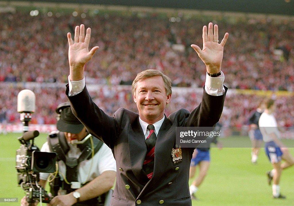 Alex Ferguson of Manchester United : News Photo