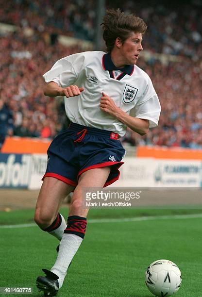 22 May 1994 International Football England v Norway Darren Anderton of England on the ball