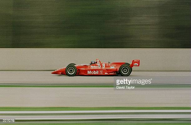 Emerson Fittipaldi of Brazil in his Hogan Penske Mercedes Benz IC108C during practice for the inaugural US 500 round six of the PPG IndyCar World...