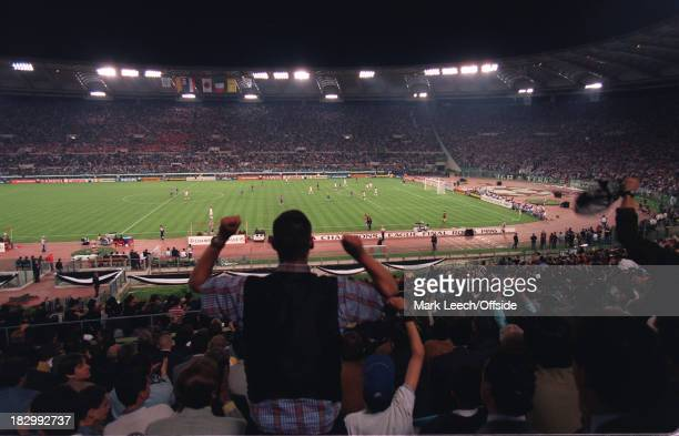 22 May 1996 UEFA Champions League Final Ajax v Juventus A General View of the Stadio Olimpico during the 1996 Champions League Final
