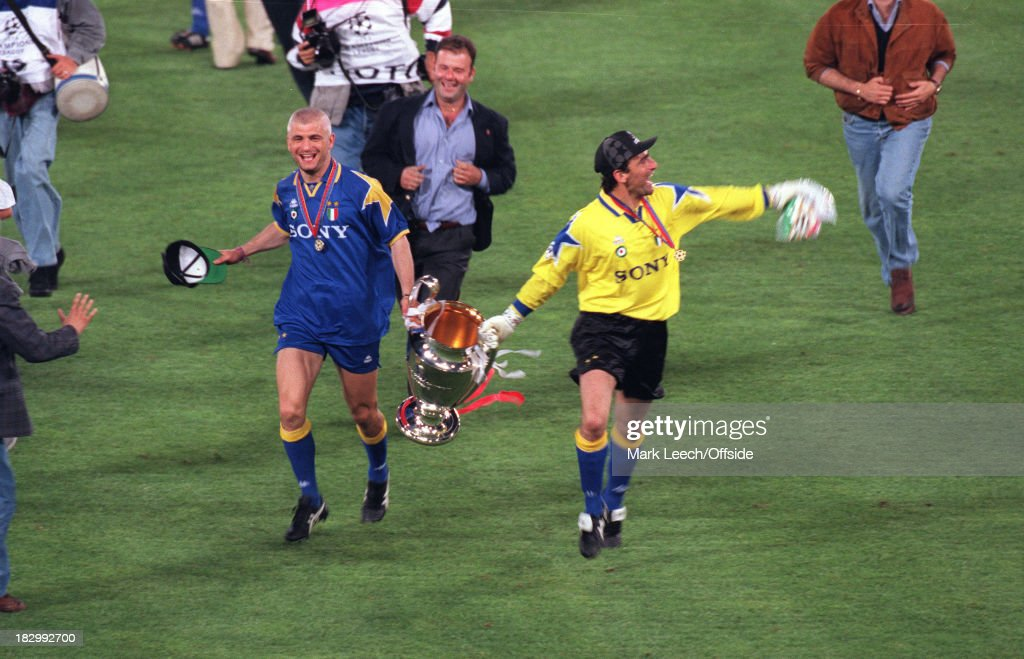 Ajax v Juventus 1996 Champions League Final : News Photo