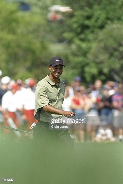 Tiger Woods walks up the fairway during the GTE Byron Nelson Classic at the Fours Seasons Resort Club in Irving Texas Mandatory Credit Craig Jones...