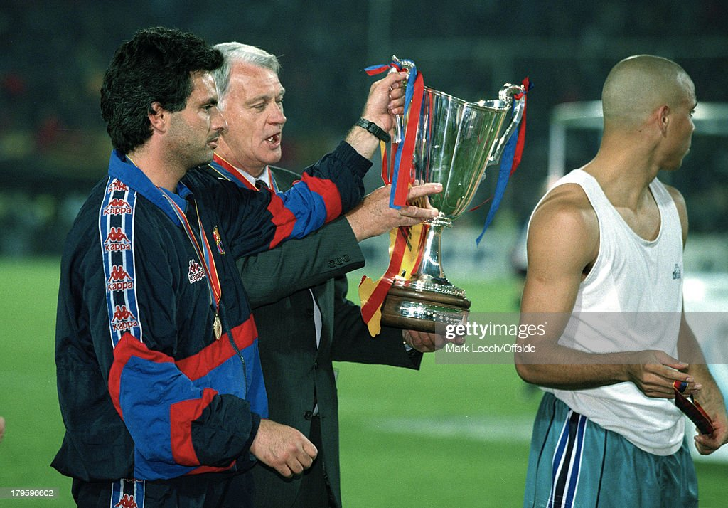 FC Barcelona UEFA ECWC 1997 : News Photo