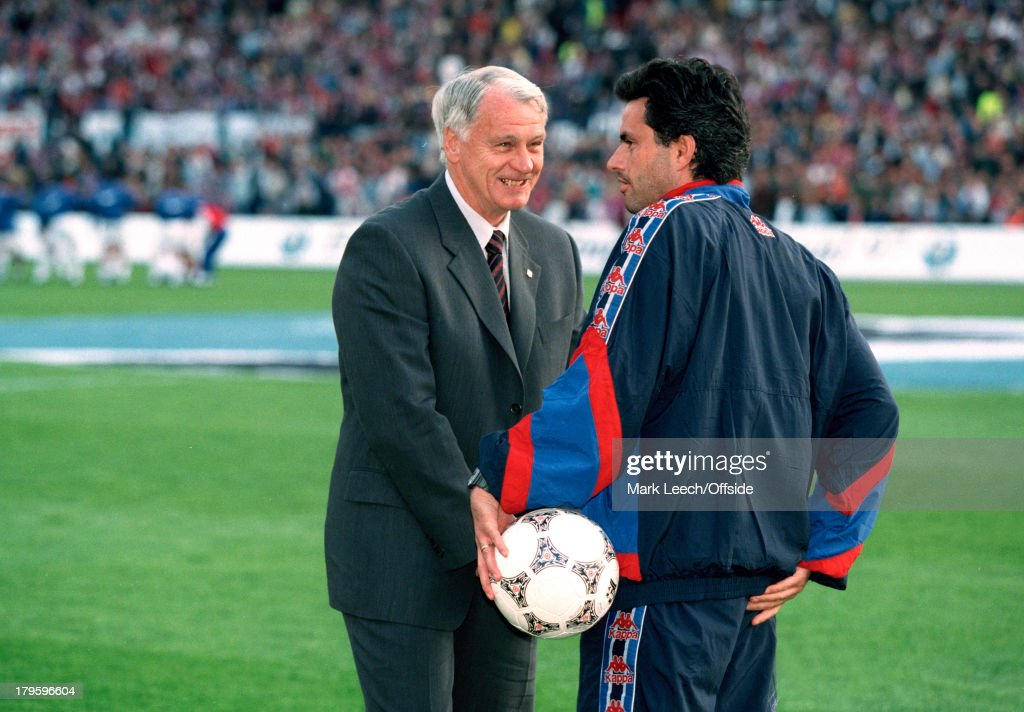 Bobby Robson And Jose Mourinho 1997 : News Photo