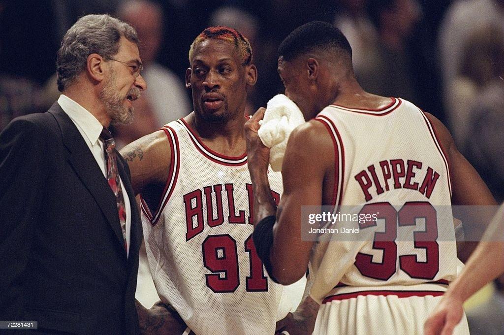 Dennis Rodman #91... : News Photo
