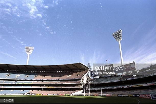 General view of the Melbourne Cricket Ground during the Scotland Summer tour to Australia Mandatory Credit Jamie McDonald/Allsport