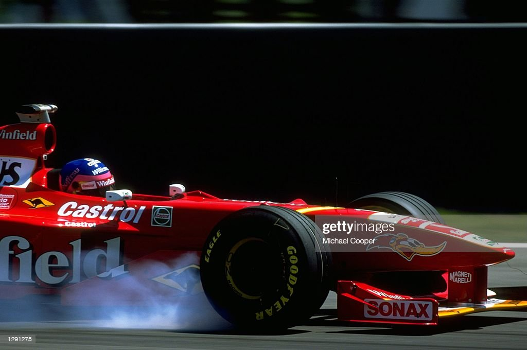 Jacques Villeneuve of Canada : News Photo