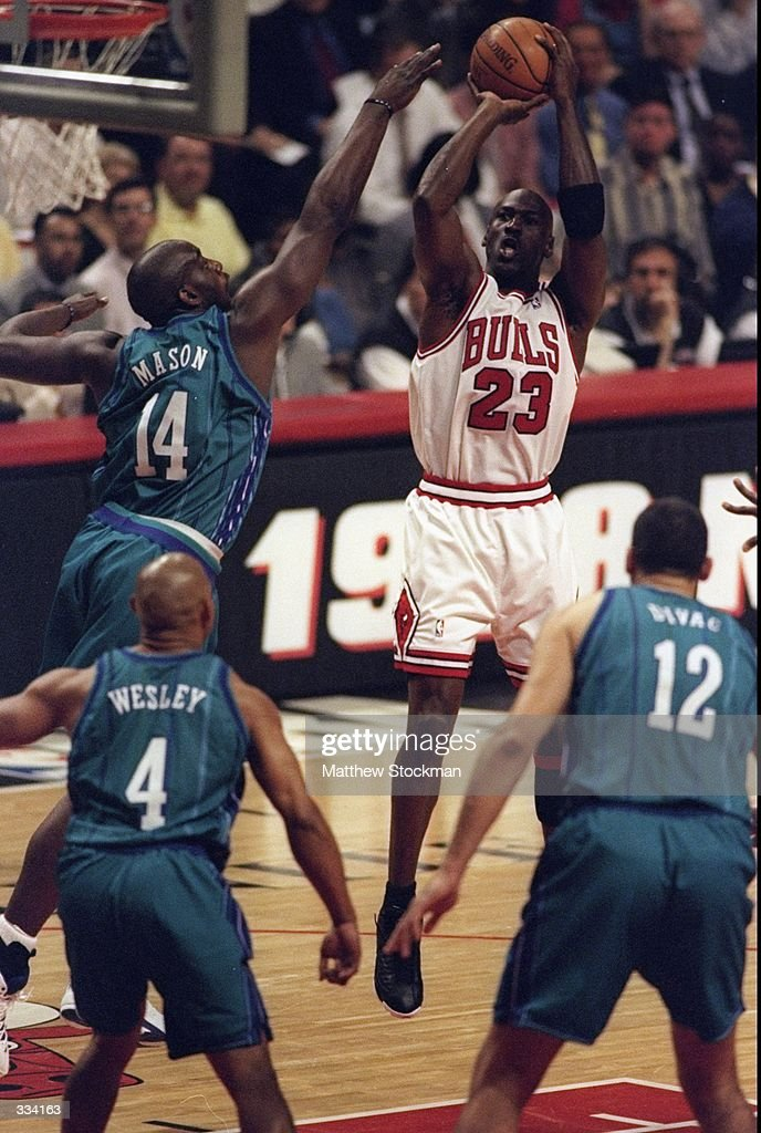 Michael Jordan #23 : News Photo