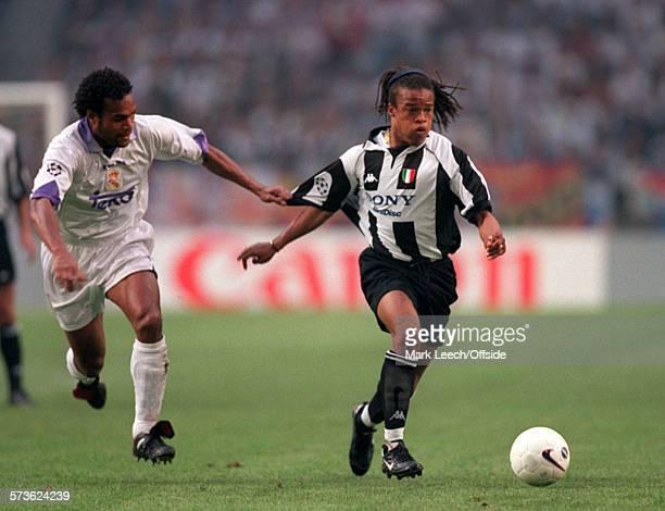 20 May 1998 UEFA Champions League Final Juventus v Real Madrid Edgar Davids of Juventus