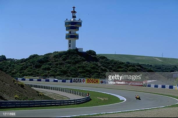 A general view of the FIM Spanish Grand Prix Motorbike World Championships held in Jerez Spain Mandatory Credit Mike Hewitt /Allsport