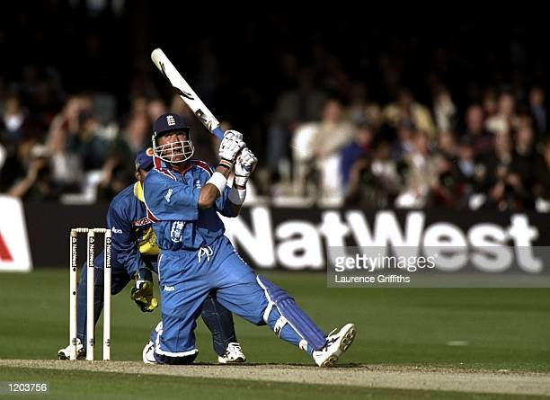 Alec Stewart of England batting during the opening Cricket World Cup Group A match against Sri Lanka played at Lord's in London England England won...