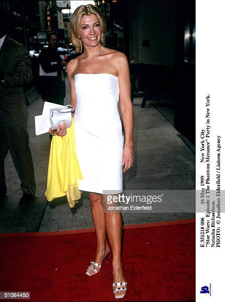 May 1999 New York City Star Wars Episode 1 The Phantom Menance Party In New York Natasha Richardson