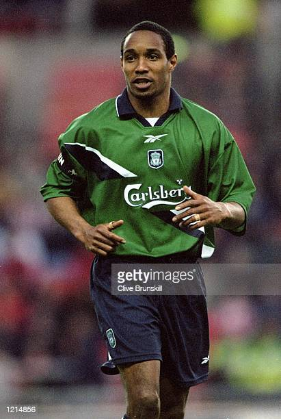 Paul Ince of Liverpool in action during the 100th League Championship Challenge match against Sunderland played at the Stadium of Light in Sunderland...