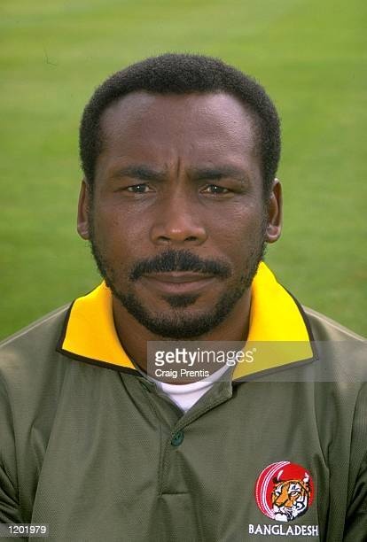 Portrait of Bangladesh coach Gordon Greenidge Mandatory Credit Craig Prentis /Allsport
