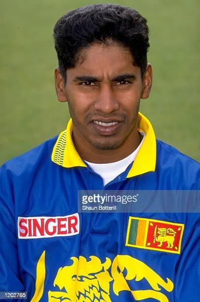 Portrait of Chaminda Vaas of Sri Lanka Mandatory Credit Shaun Botterill /Allsport