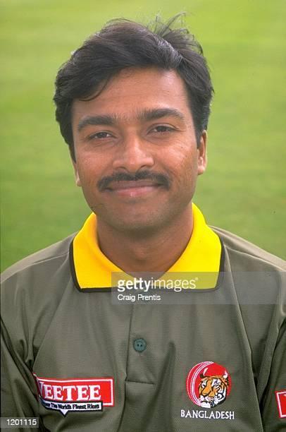 Portrait of Faruque Ahmed of Bangladesh Mandatory Credit Craig Prentis /Allsport