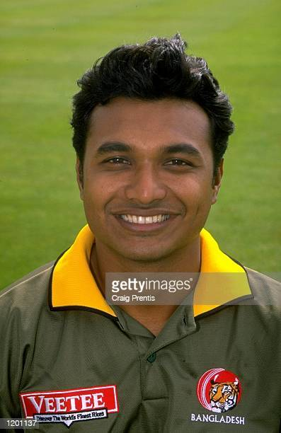Portrait of Neeyamur Rashid of Bangladesh Mandatory Credit Craig Prentis /Allsport