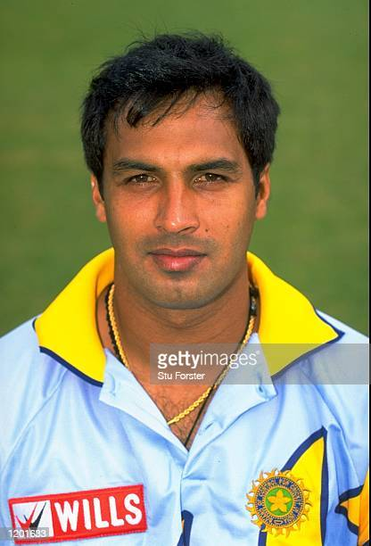 Portrait of Robin Singh of India Mandatory Credit Stu Forster /Allsport