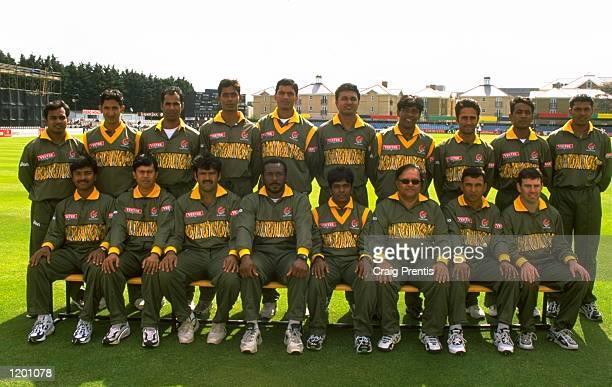 The Bangladesh World Cup squad Mandatory Credit Craig Prentis /Allsport