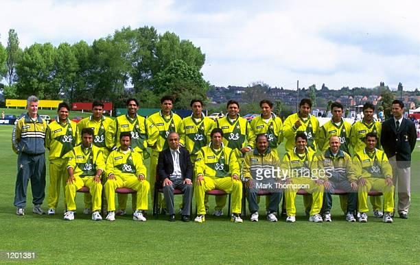 The Pakistan World Cup squad Mandatory Credit Mark Thompson /Allsport