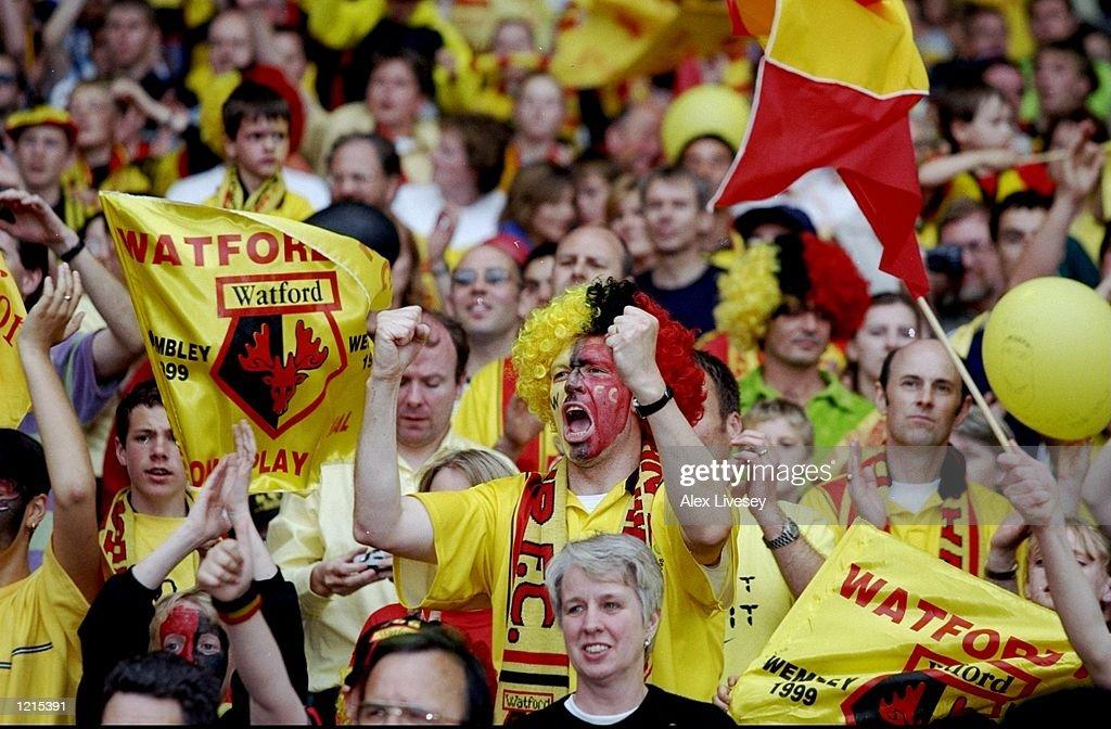Watford Fans : News Photo