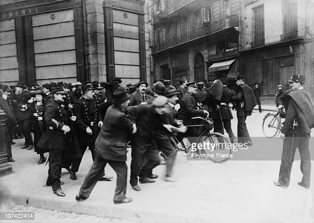 Confrontation Between Demonstrators And Police Forces On The Labour Day In Paris On May 1St 1920