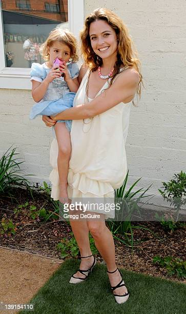 May 2 2009 Santa Monica Ca Josie Maran and daughter Rumi Joon Alborzi 2nd Annual Pregnancy Awareness Month Party Held at Little Dolphins by the Sea