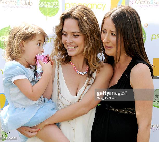 May 2 2009 Santa Monica Ca Rumi Joon Alborzi Josie Maran and Anna Getty 2nd Annual Pregnancy Awareness Month Party Held at Little Dolphins by the Sea