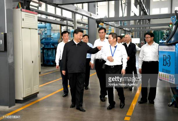 GANZHOU May 20 2019 Chinese President Xi Jinping also general secretary of the Communist Party of China Central Committee and chairman of the Central...