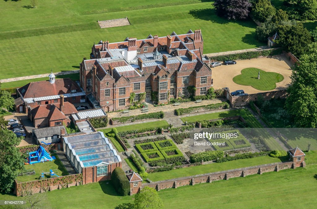 Aerial Photograph Of Chequers The Country Residence Of The Prime