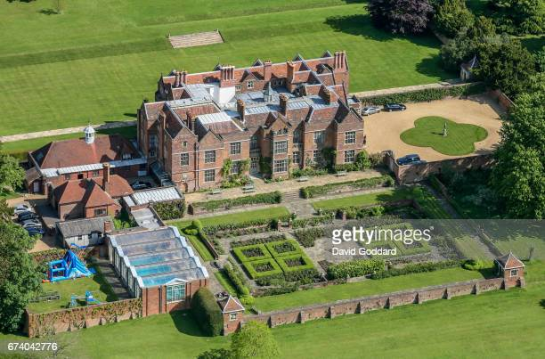 KINGDOM May 20 Aerial photograph of Chequers the country residence of the Prime Minister on May 2007 This 16th century Country mansion is located on...