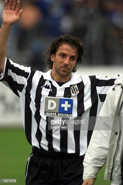 Alessandro Del Piero of Juventus during the Serie A match between Juventus and Parma at the Stadio Delle Alpi Turin Italy Mandatory Credit Grazia...