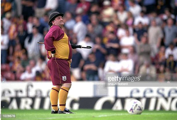 Bradford City`s mascot before the FA Carling Premiership match against Liverpool at Valley Parade in Bradford, England. Bradford won the match 1-0. \...