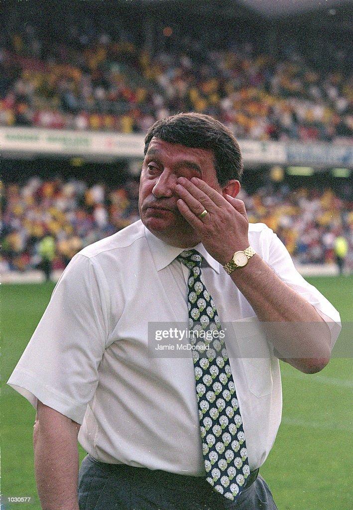 Watford manager Graham Taylor : News Photo