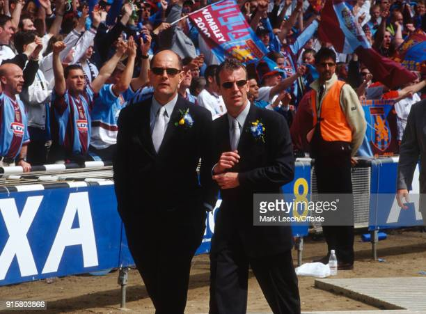 20 May 2000 Wembley FA Cup Final Aston Villa v Chelsea Chelsea FC coaches Graham Rix and Gwyn Williams