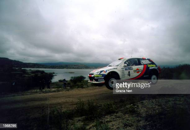 Colin Mc Rae with Ford Focus wrc during the World Rally Championships in Argentina Germano Gritti / Grazia Neri DIGITAL IMAGE Mandatory Credit Grazia...
