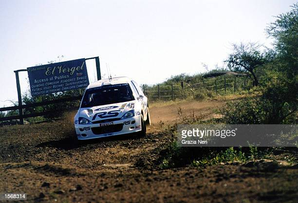 Francois Delecour with Ford Focus wrc during the World Rally Championships in Argentina Germano Gritti / Grazia Neri DIGITAL IMAGE Mandatory Credit...