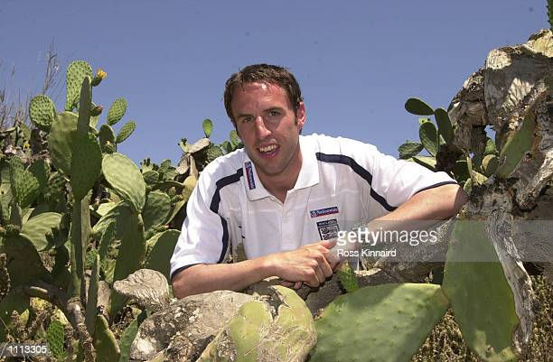 Gareth Southgate of England during a press conference at the La Manga training camp in Mercia Spain DIGITAL IMAGE Mandatory Credit Ross...