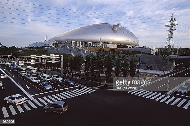 General view of the Sapporo Dome in Sapporo Japan one of the venues for the 2002 World Cup Mandatory Credit Shaun Botterill /Allsport