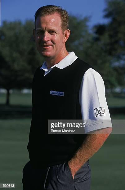 Golfer Jeff Maggert poses for a portrait during the Verizon Byron Nelson Classic at the TCP Los Colinas in Irving TexasMandatory Credit Ronald...
