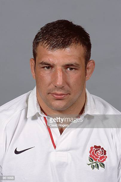 Headshot of Julian White of England during the England summer tour to USA and Canada photoshoot held at Twickenham in London Mandatory Credit Dave...