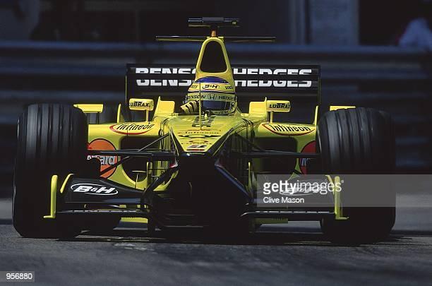 Jordan Honda driver Jarno Trulli of Italy in action during the Formula One Monaco Grand Prix in Monte Carlo Monaco Mandatory Credit Clive Mason...