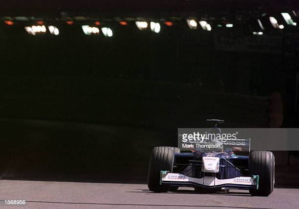 Kimi Raikkonen of Sauber and Finland exits the tunnel during second practice for the Formula One Monaco Grand Prix Monte Carlo Mandatory Credit Mark...